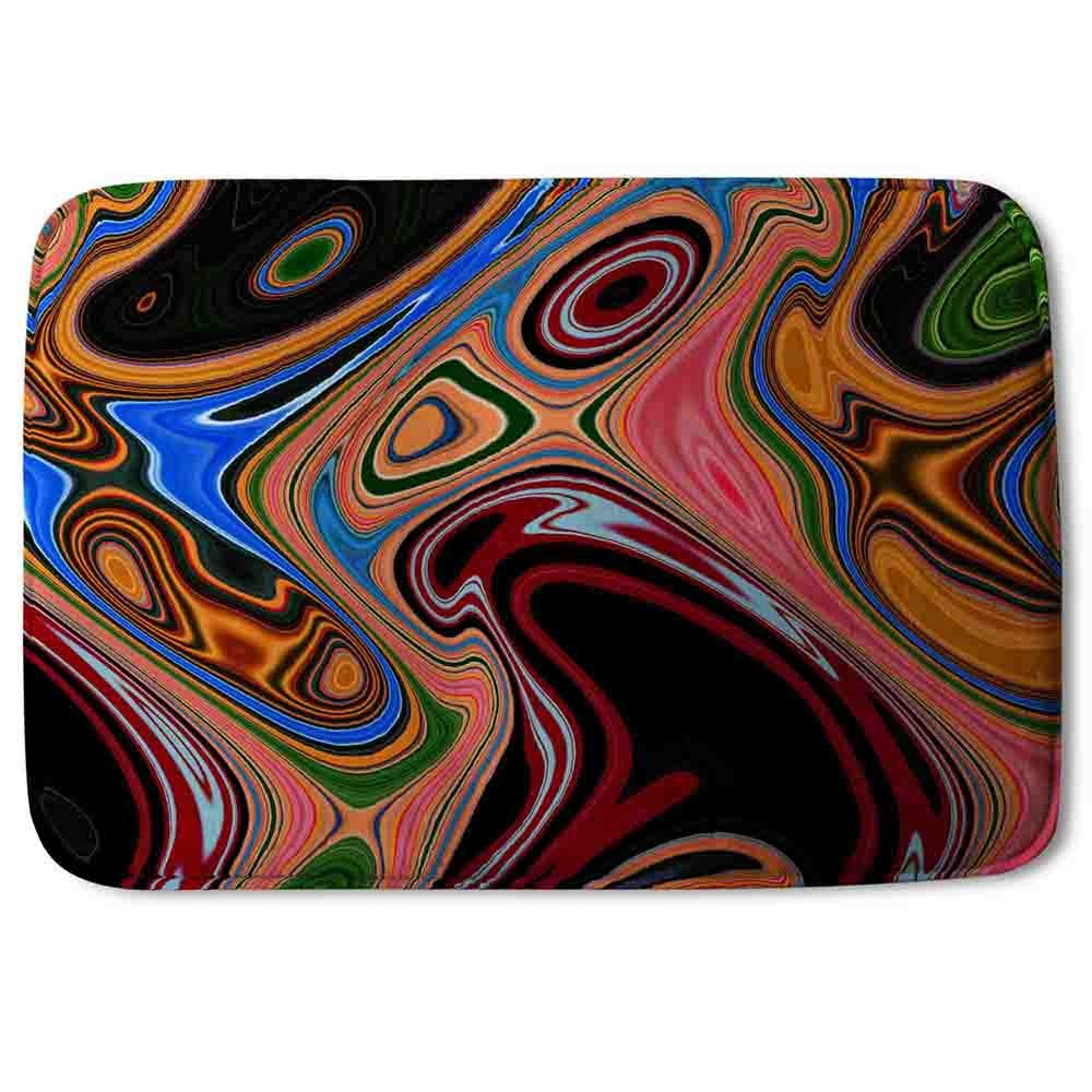 New Product Pyschedelic Marble Pattern (Bath Mat)  - Andrew Lee Home and Living