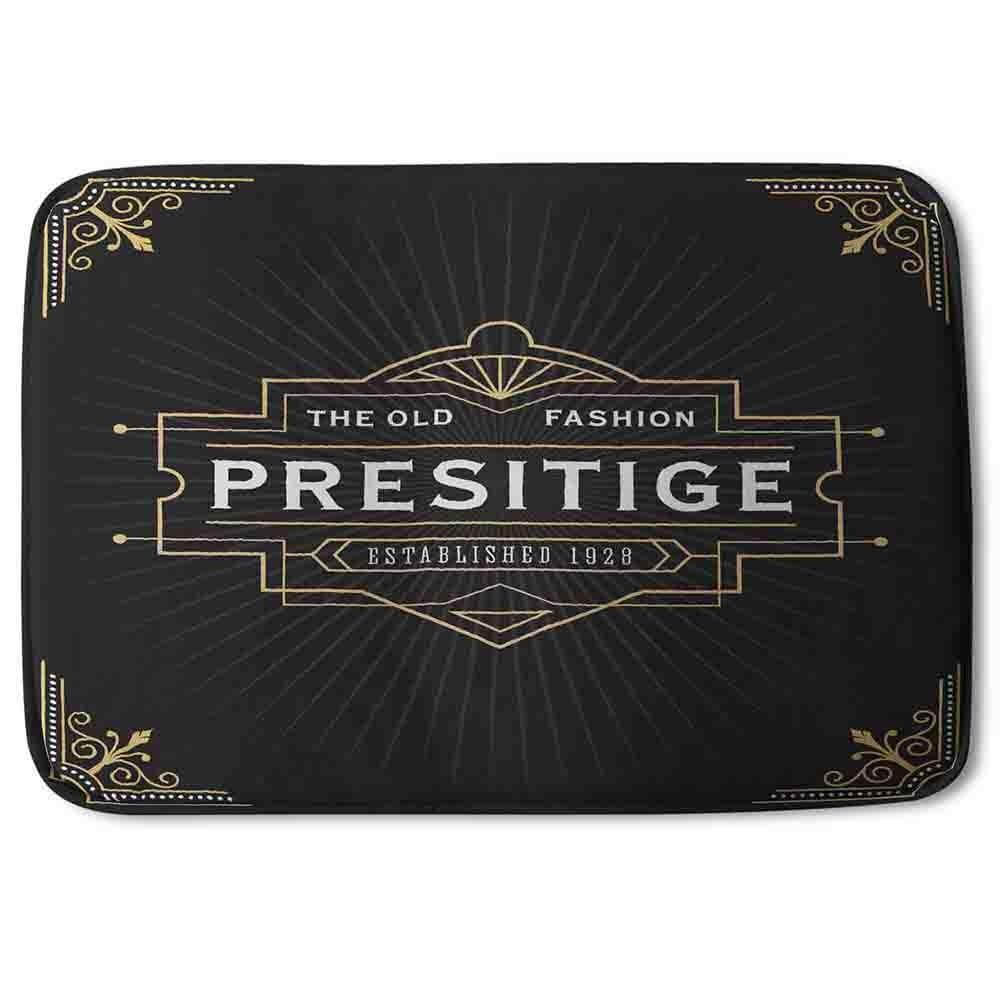 New Product Art Deco Old Fashioned Prestige (Bath Mat)  - Andrew Lee Home and Living