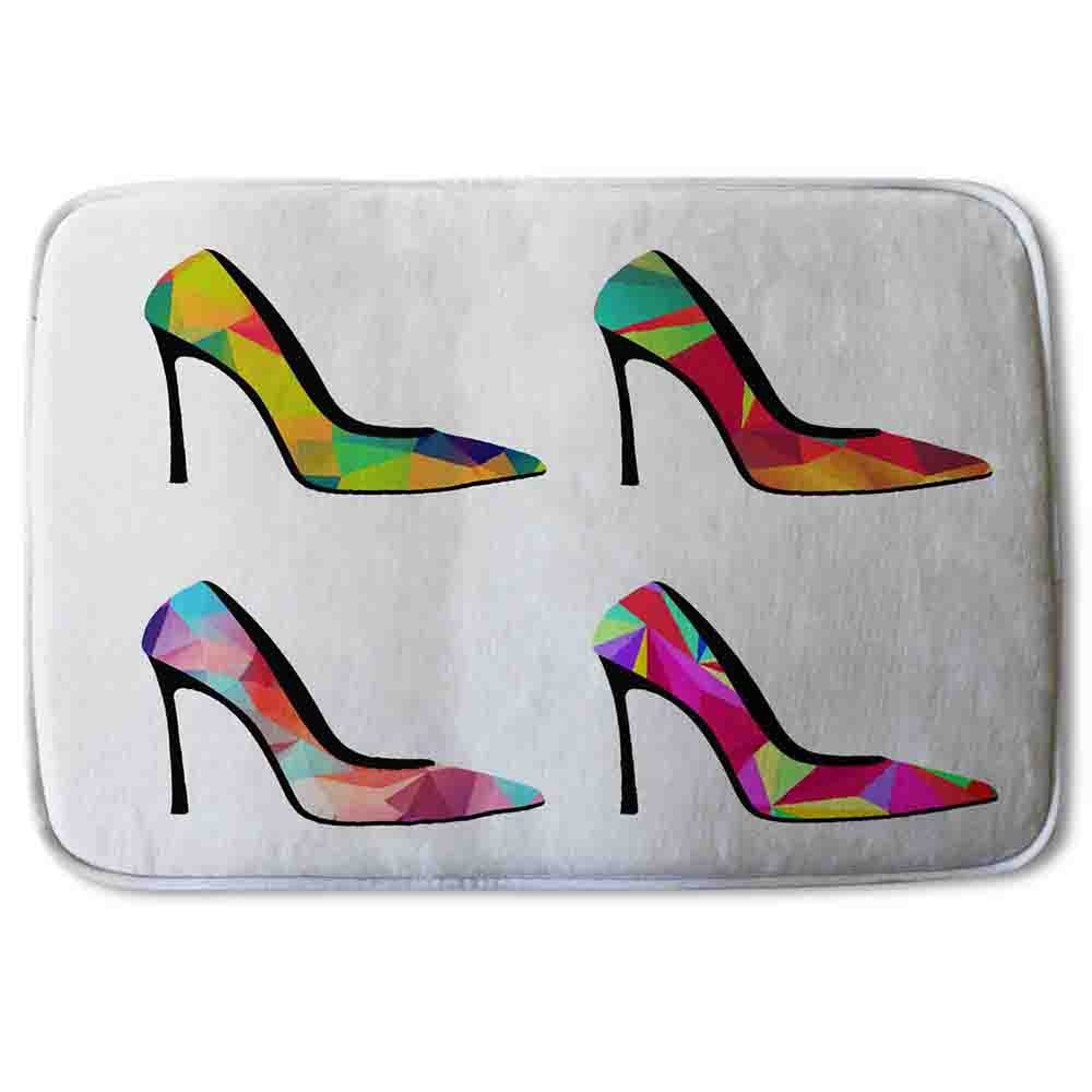 New Product Geometric High Heels (Bath Mat)  - Andrew Lee Home and Living