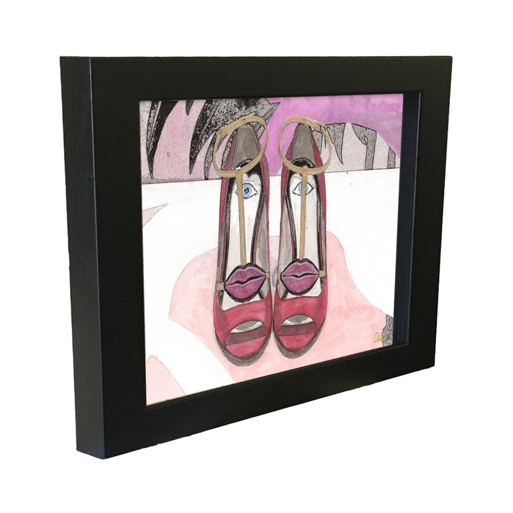 New Product Lips Shoes  - Andrew Lee Home and Living