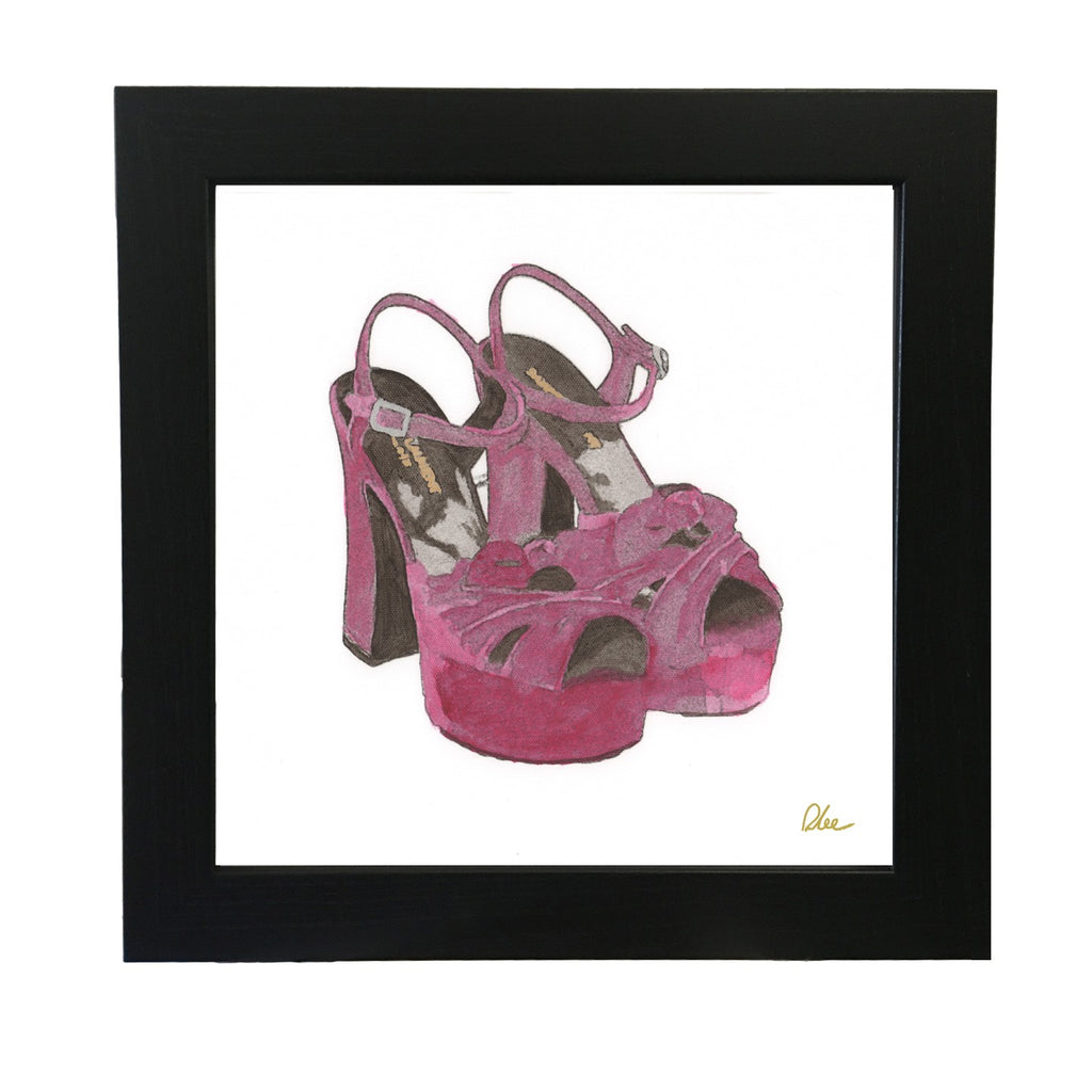 New Product Purple High Heels  - Andrew Lee Home and Living