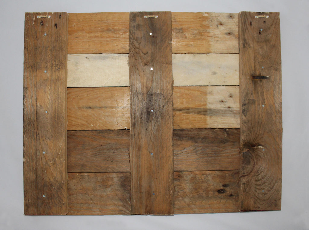 Reclaimed Wood Print - New Product modern and trendy design (Reclaimed white wood)  - Andrew Lee Home and Living Homeware