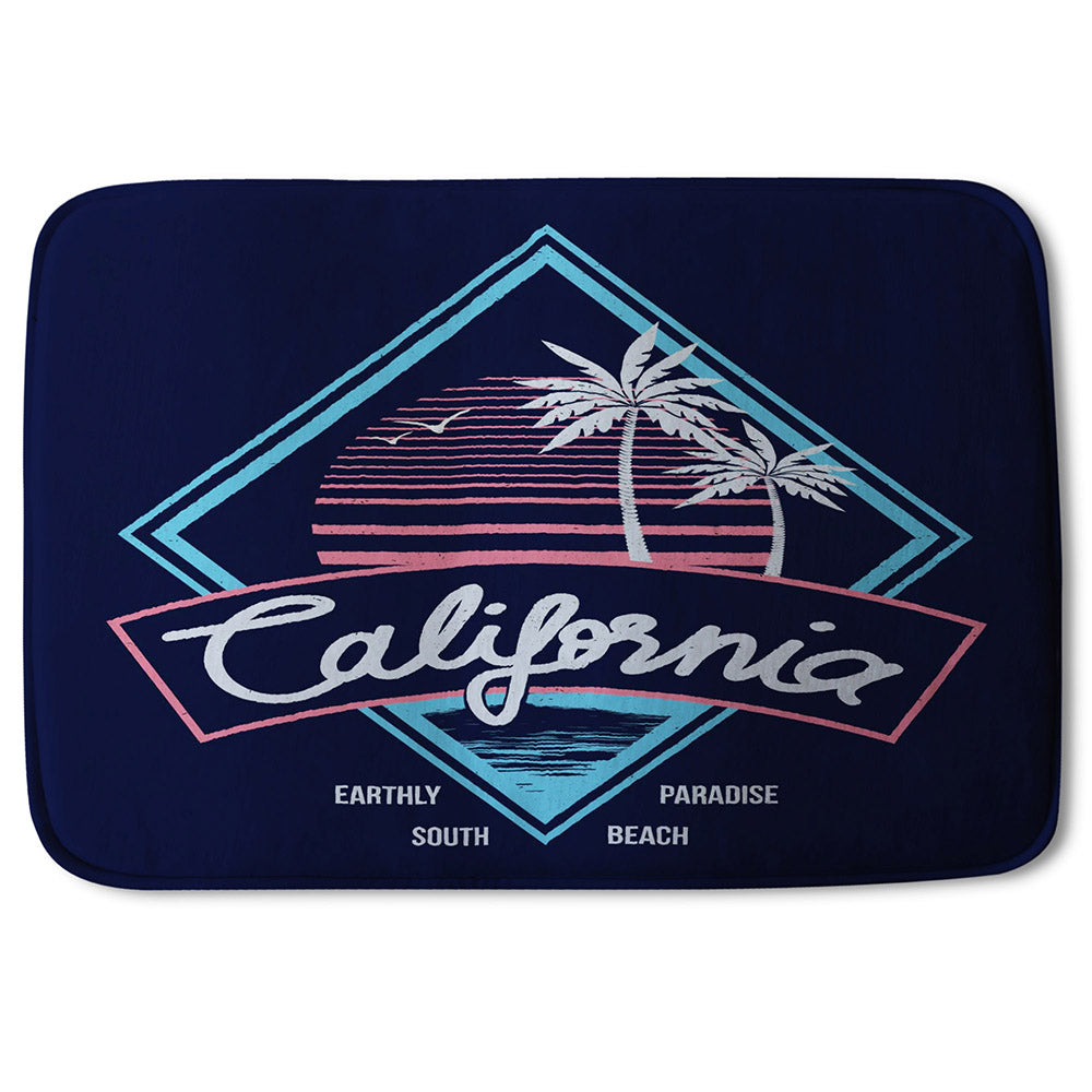 New Product Neon California (Bathmat)  - Andrew Lee Home and Living