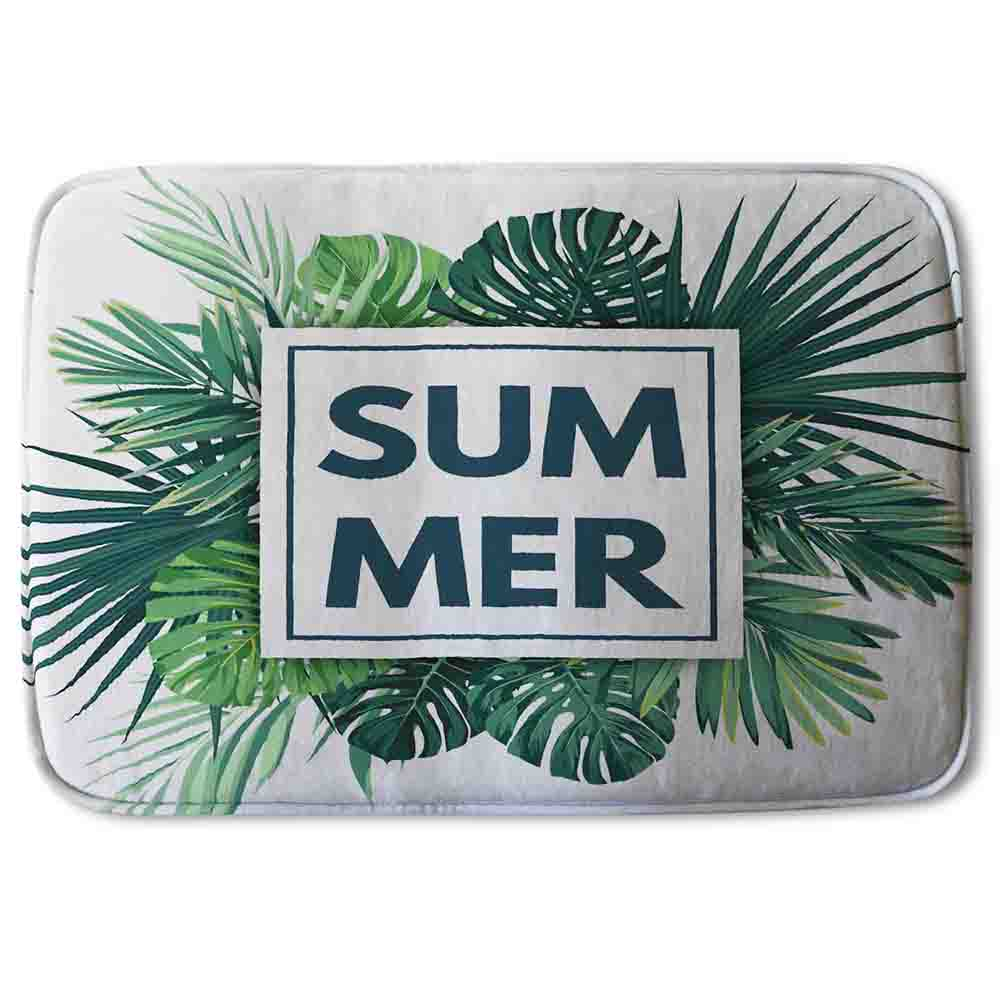 New Product Botanical Summer (Bathmat)  - Andrew Lee Home and Living