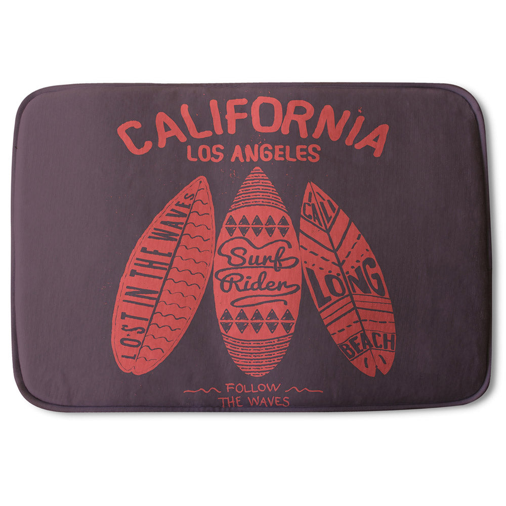 New Product California Surf (Bathmat)  - Andrew Lee Home and Living