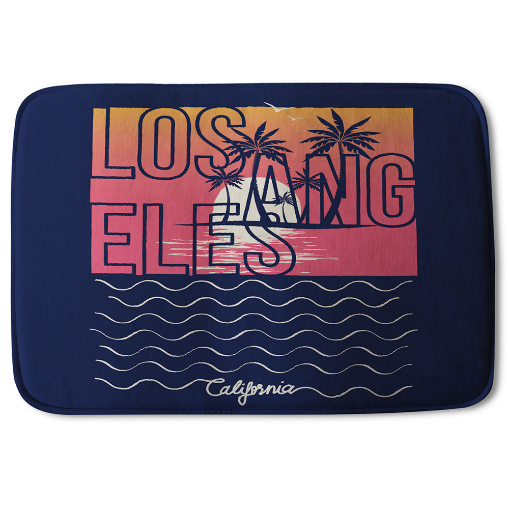 New Product Los Angeles Sunset (Bathmat)  - Andrew Lee Home and Living