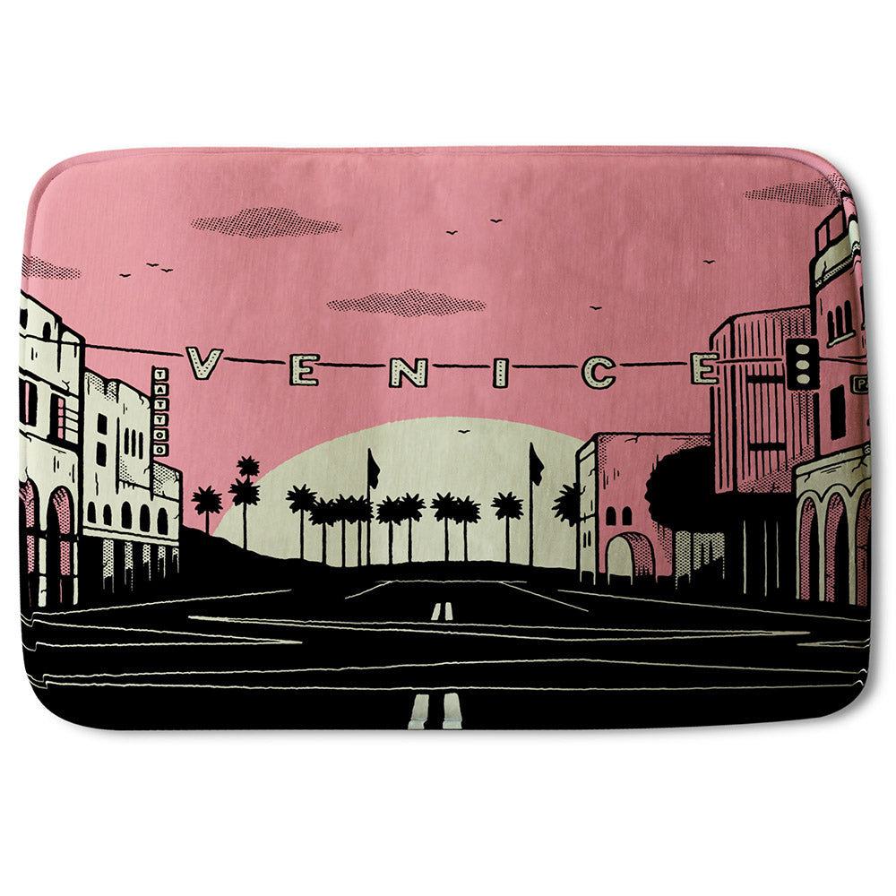 New Product Venice Cali Sunset (Bathmat)  - Andrew Lee Home and Living
