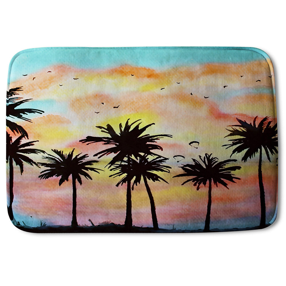 New Product Palm Trees at Sunset (Bathmat)  - Andrew Lee Home and Living