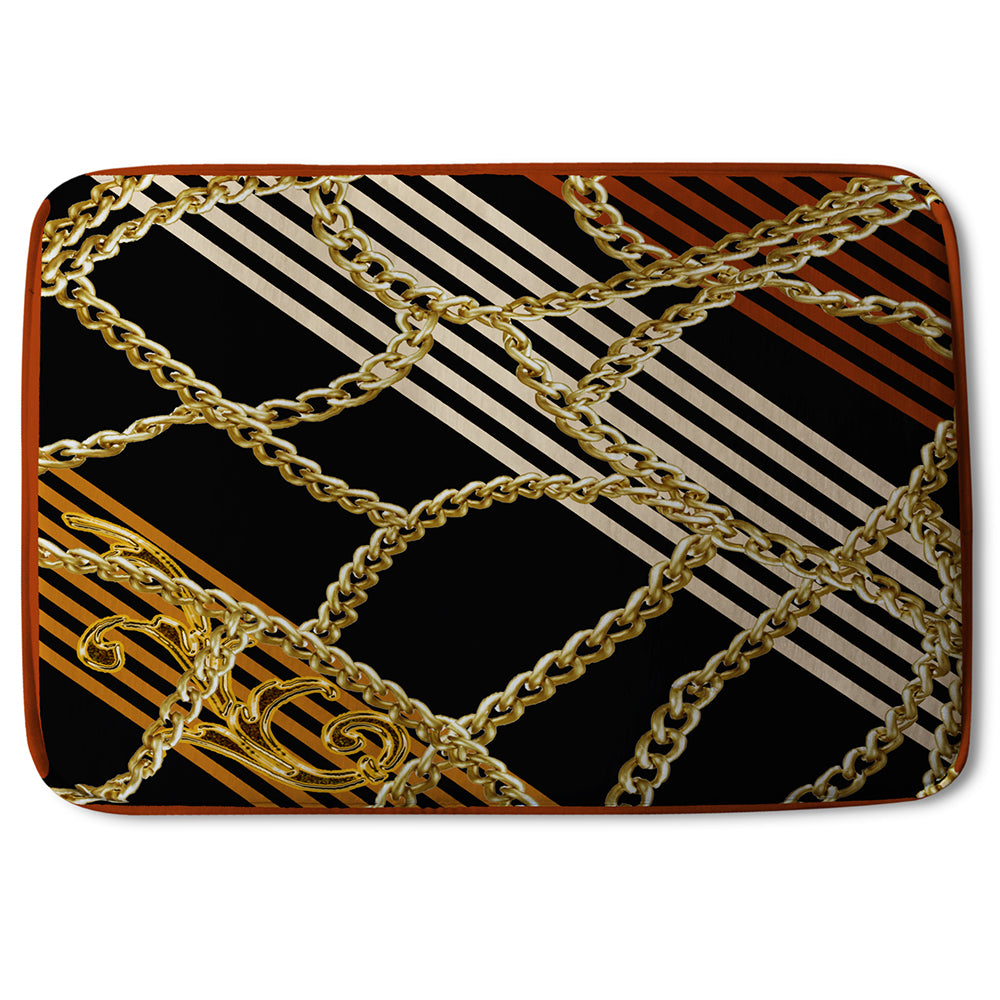 New Product Chains & Stripes (Bathmat)  - Andrew Lee Home and Living
