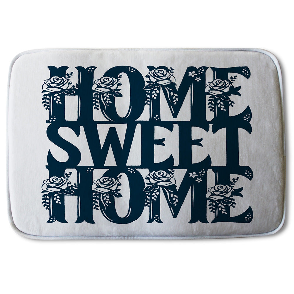 New Product Home Sweet Home Type (Bathmat)  - Andrew Lee Home and Living