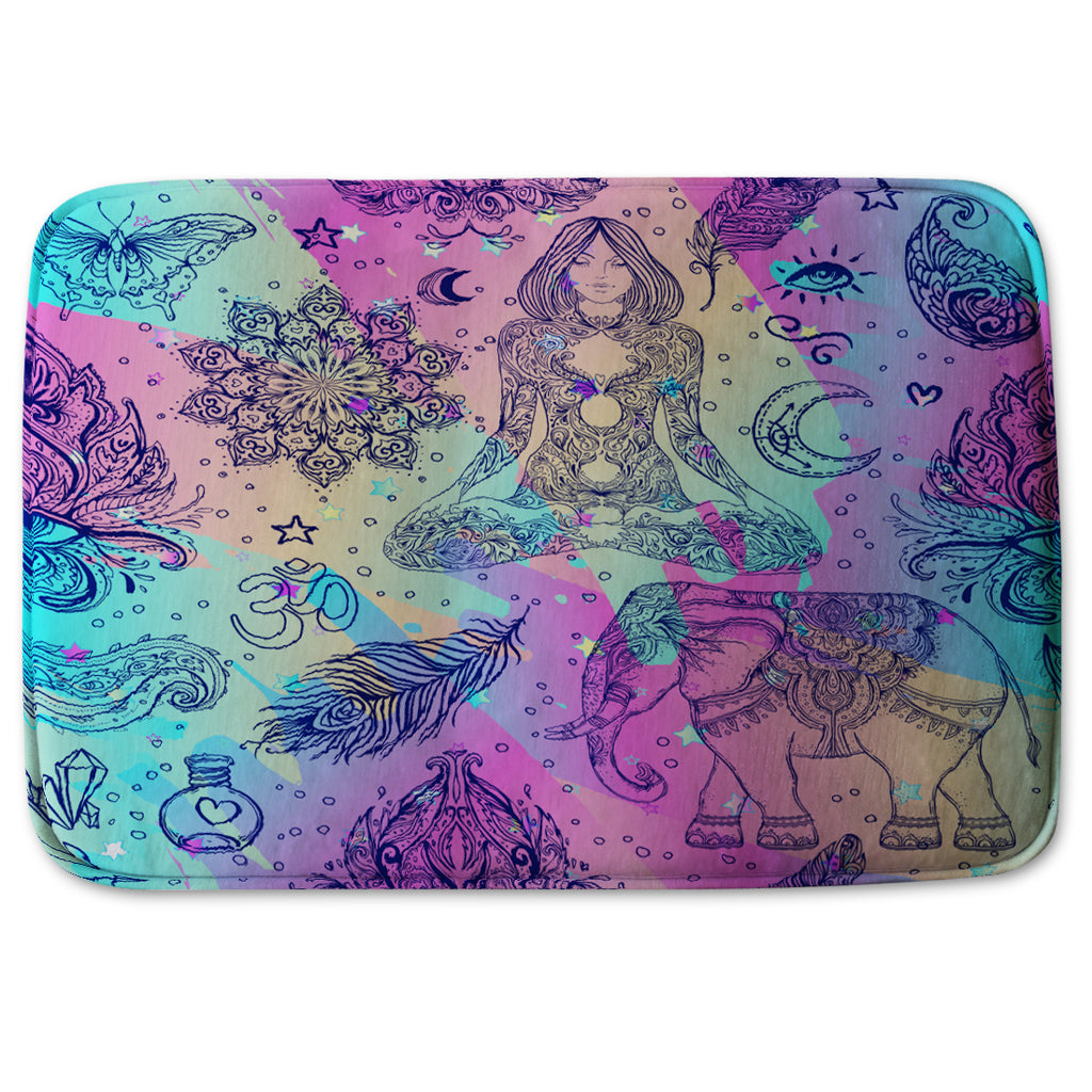 New Product Colorful rainbow (Bathmat)  - Andrew Lee Home and Living