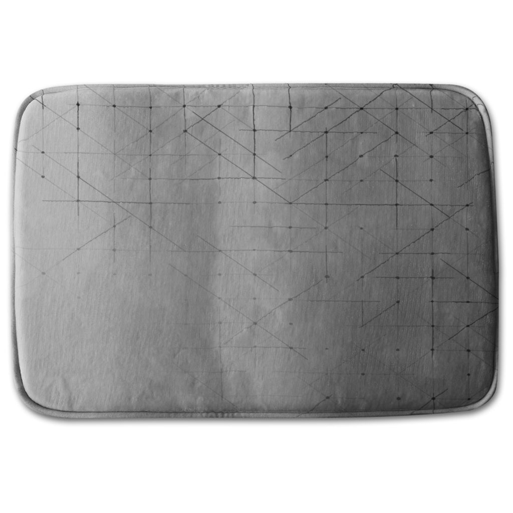 Bathmat - New Product Geometric simple minimalistic (Bath mats)  - Andrew Lee Home and Living