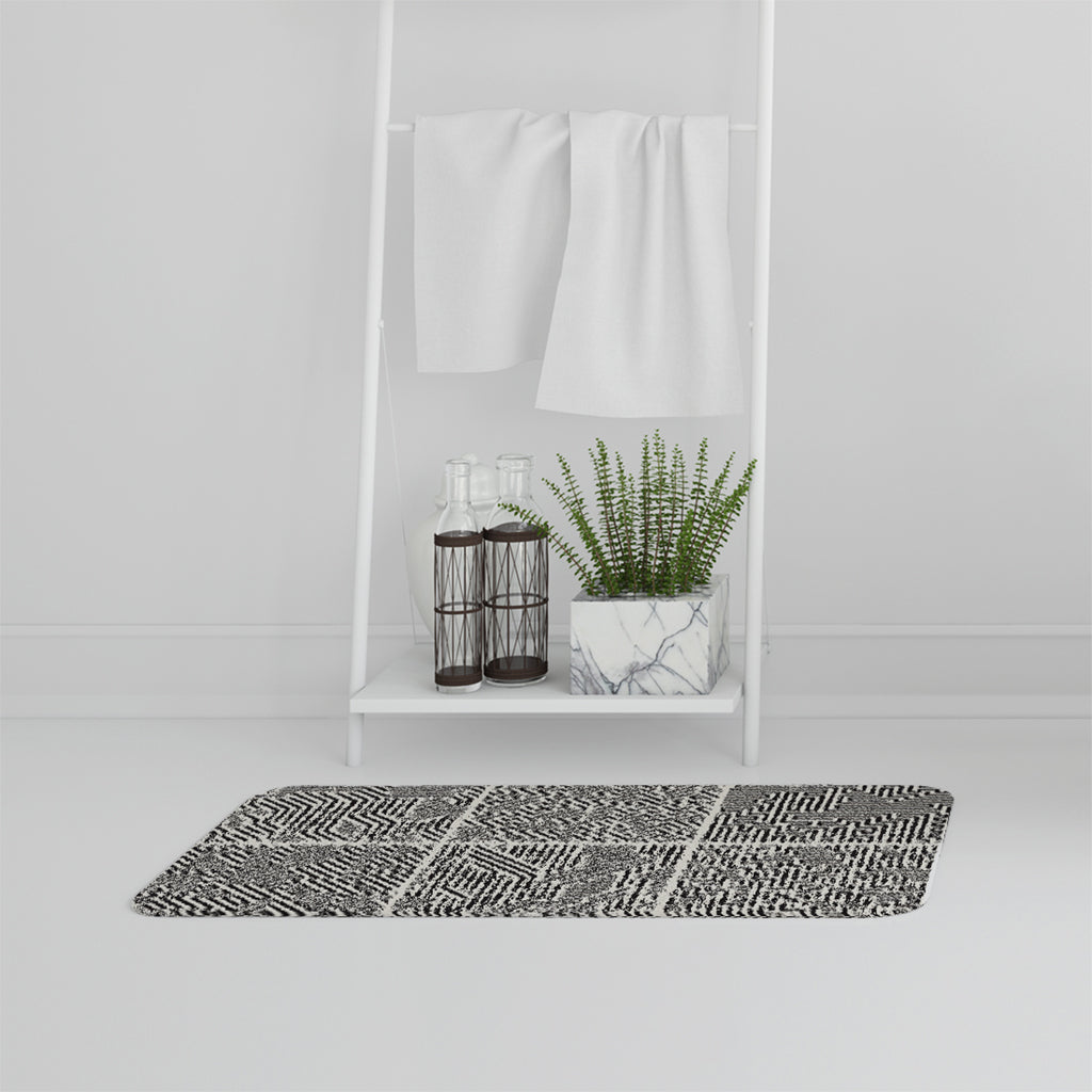 Bathmat -  New Product striped geometric patterns (Bath mats)  - Andrew Lee Home and Living