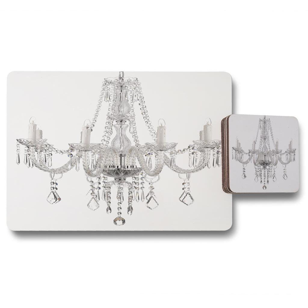 New Product Chandelier (Placemat & Coaster Set)  - Andrew Lee Home and Living