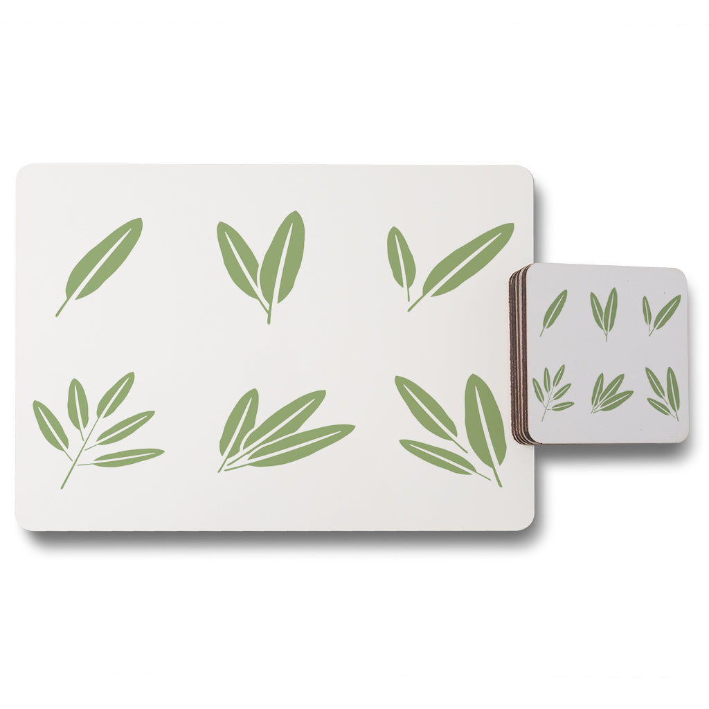 New Product Herbs (Placemat & Coaster Set)  - Andrew Lee Home and Living