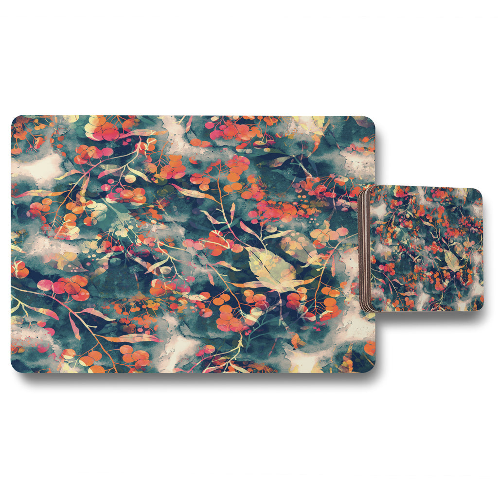 New Product Herbal (Placemat & Coaster Set)  - Andrew Lee Home and Living
