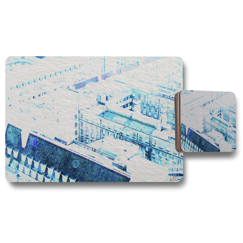 New Product Chimney tops (Placemat & Coaster Set)  - Andrew Lee Home and Living