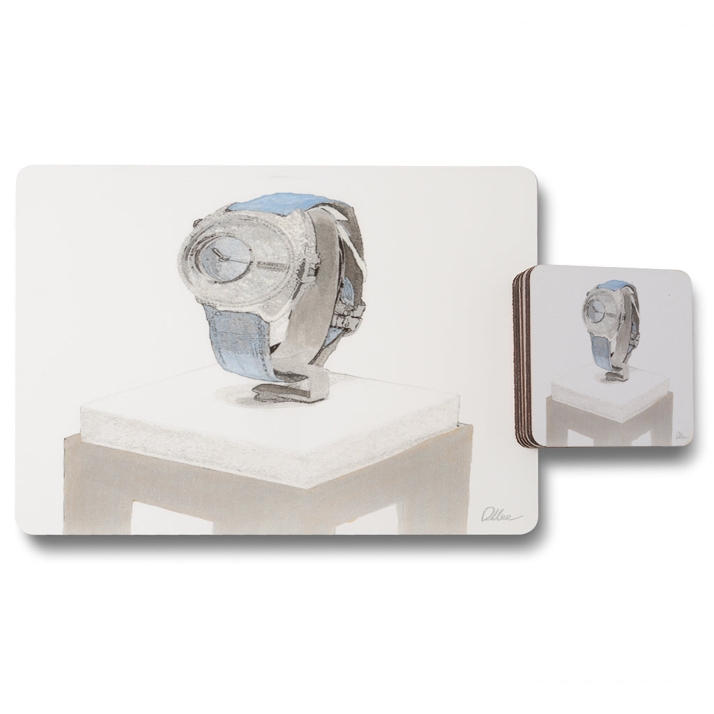 New Product crystal watch (Placemat & Coaster Set)  - Andrew Lee Home and Living