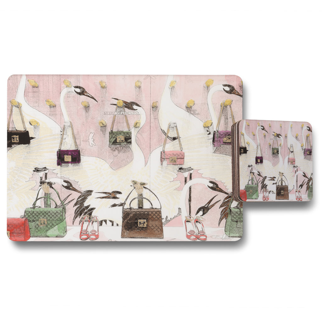 New Product Fashion Heaven (Placemat & Coaster Set)  - Andrew Lee Home and Living
