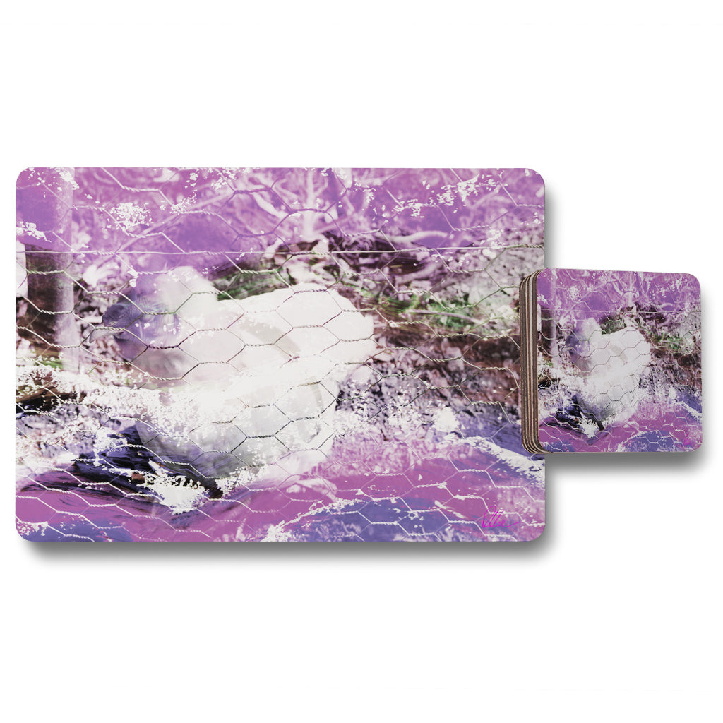 New Product CHICKEN (Placemat & Coaster Set)  - Andrew Lee Home and Living