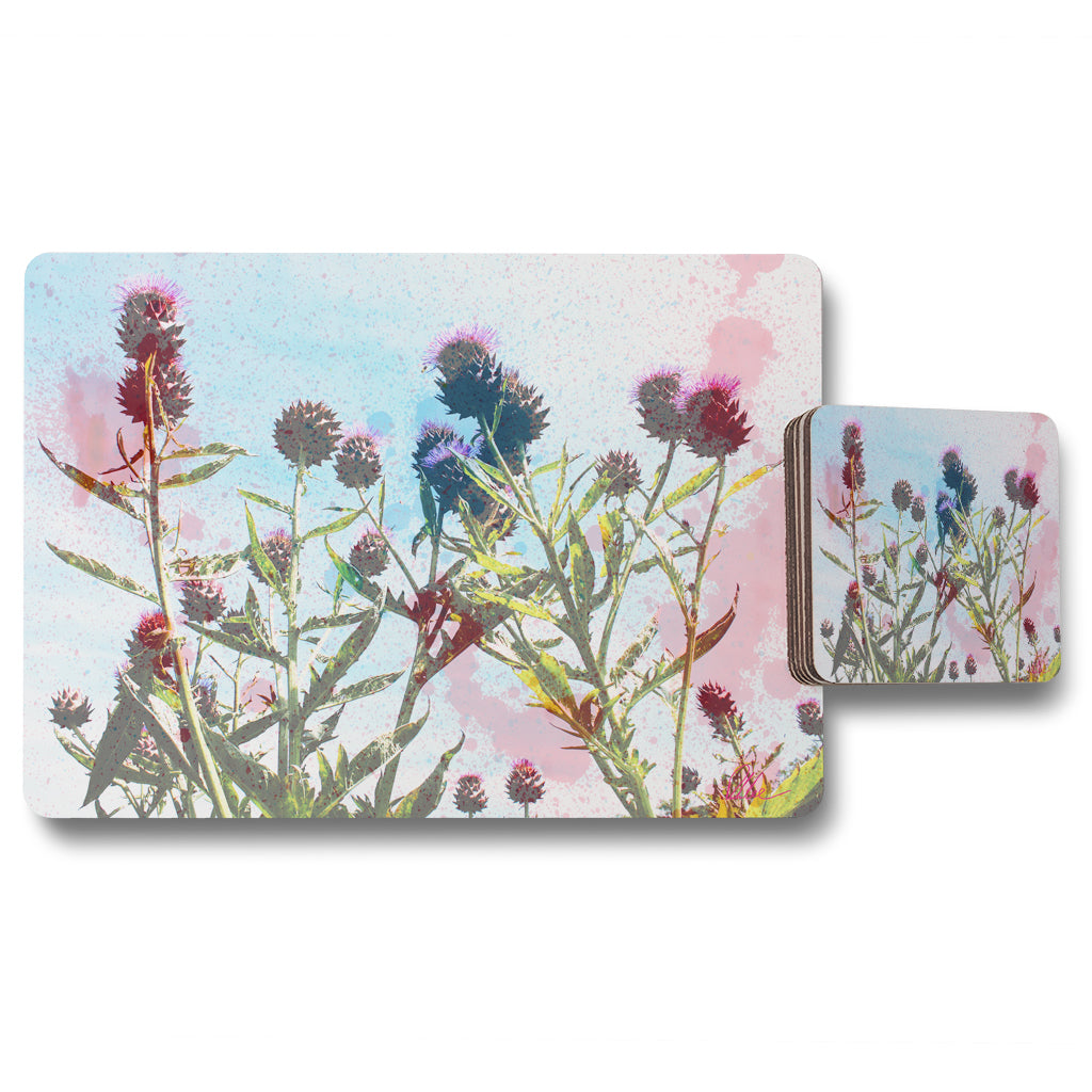 New Product reaching for the sky (Placemat & Coaster Set)  - Andrew Lee Home and Living