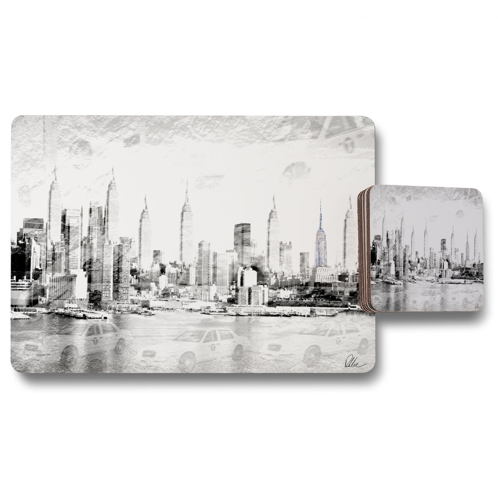 New Product Multiple Empire (Placemat & Coaster Set)  - Andrew Lee Home and Living