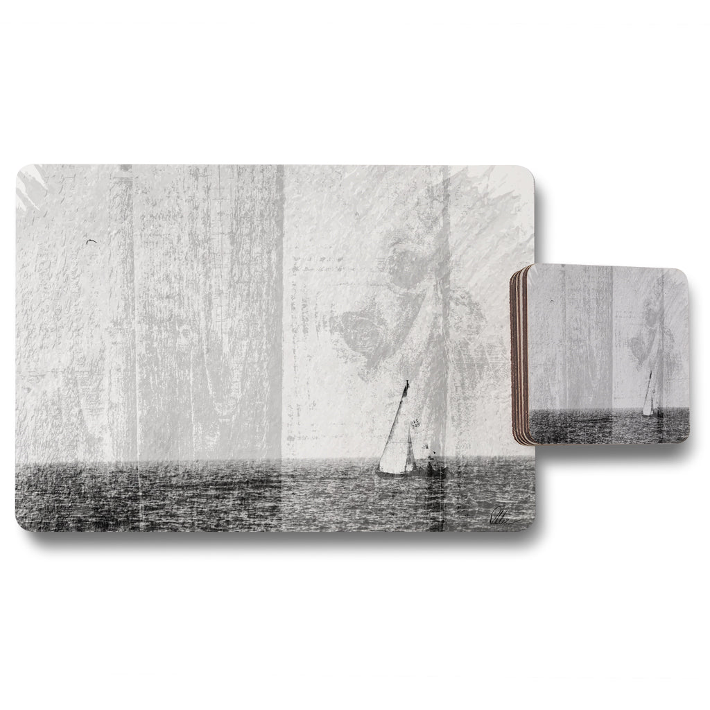 New Product Sail (Placemat & Coaster Set)  - Andrew Lee Home and Living