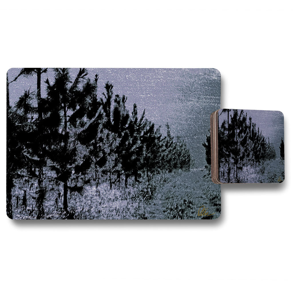 New Product Star Tree Line (Placemat & Coaster Set)  - Andrew Lee Home and Living