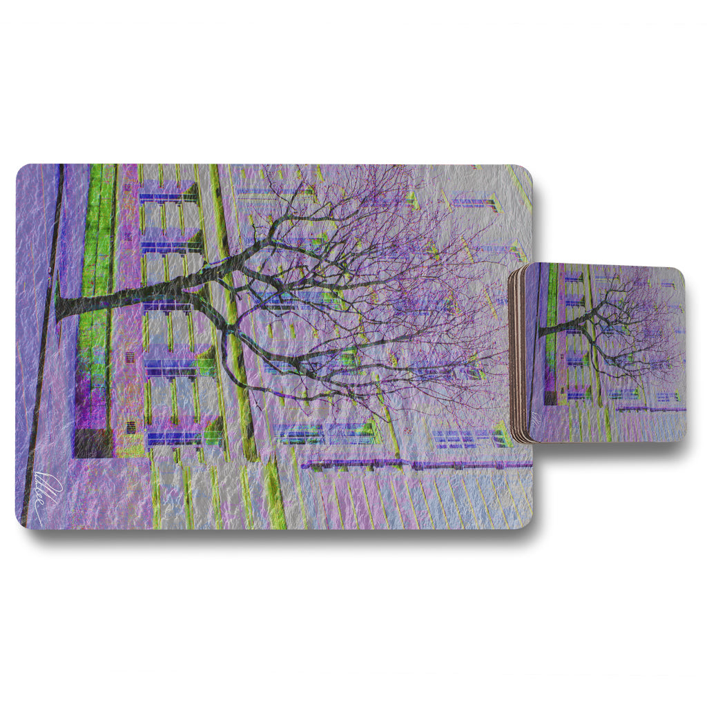 New Product Lonely tree (Placemat & Coaster Set)  - Andrew Lee Home and Living