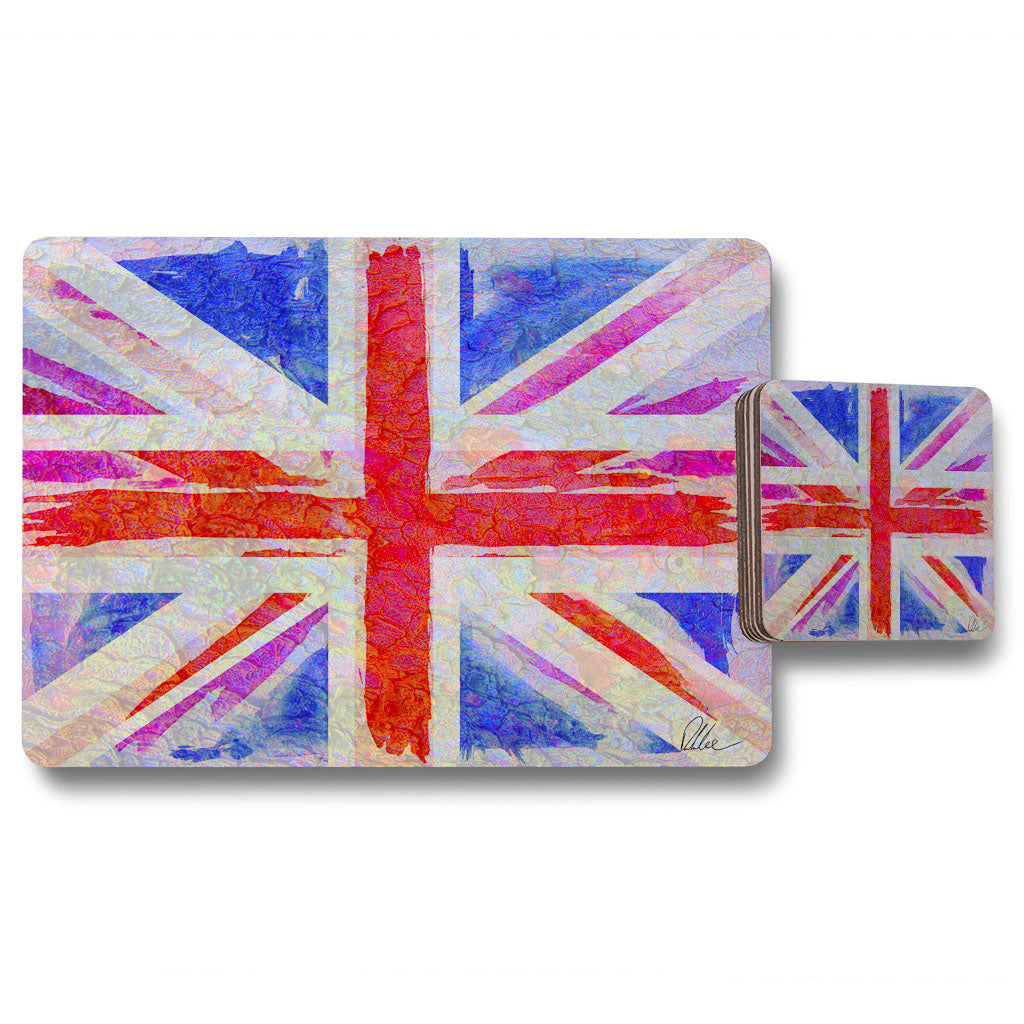 New Product Union Jack (Placemat & Coaster Set)  - Andrew Lee Home and Living