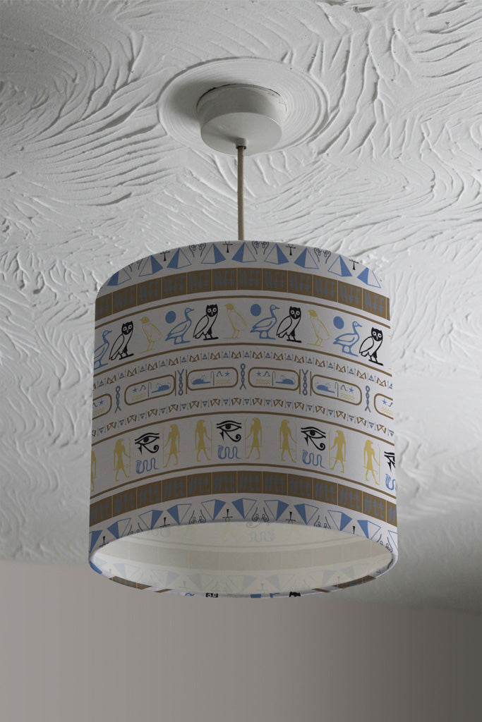 New Product Heiroglyphs (Ceiling & Lamp Shade)  - Andrew Lee Home and Living
