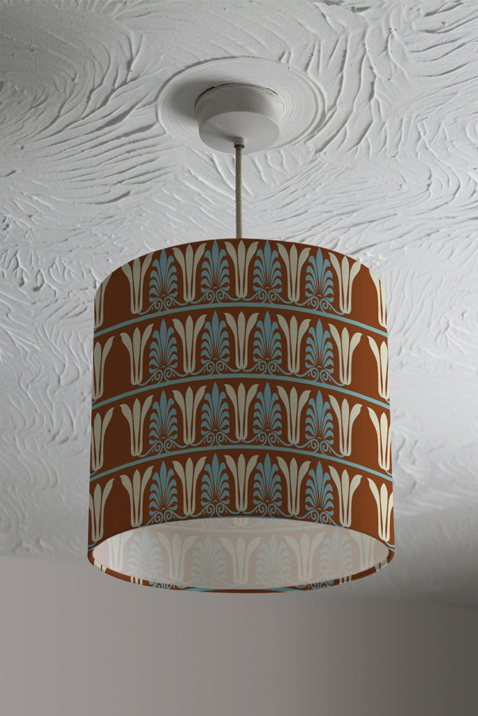 New Product Egyptian Flower Ornament Pattern (Ceiling & Lamp Shade)  - Andrew Lee Home and Living