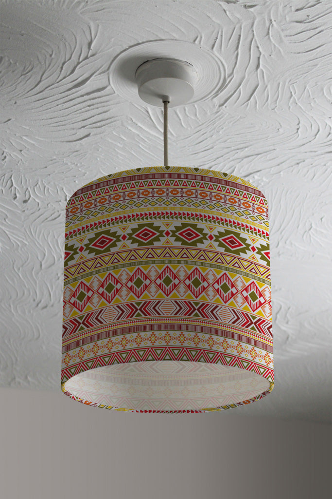 New Product Aztec American Indian Pattern (Ceiling & Lamp Shade)  - Andrew Lee Home and Living
