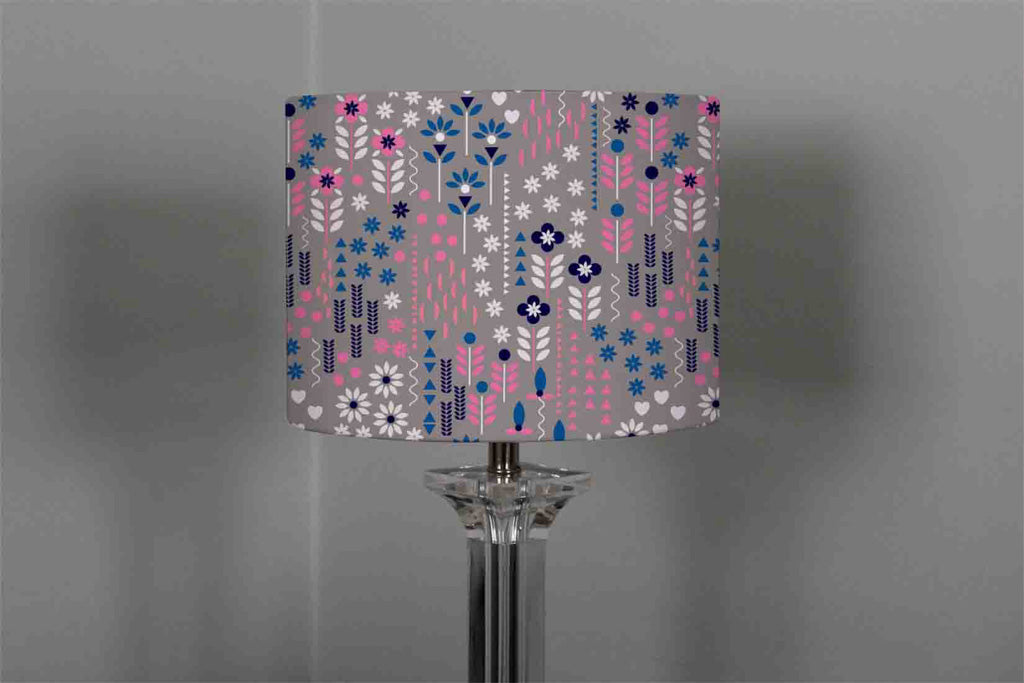 New Product Selection of Flowers in Pink, Blue & White (Ceiling & Lamp Shade)  - Andrew Lee Home and Living