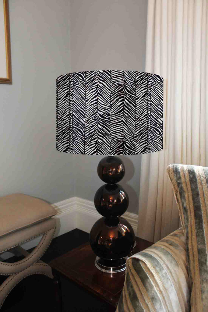 New Product Zebra Grunge Print (Ceiling & Lamp Shade)  - Andrew Lee Home and Living