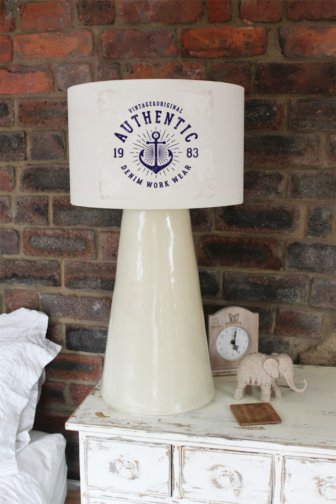New Product Vintage Anchor (Ceiling & Lamp Shade)  - Andrew Lee Home and Living