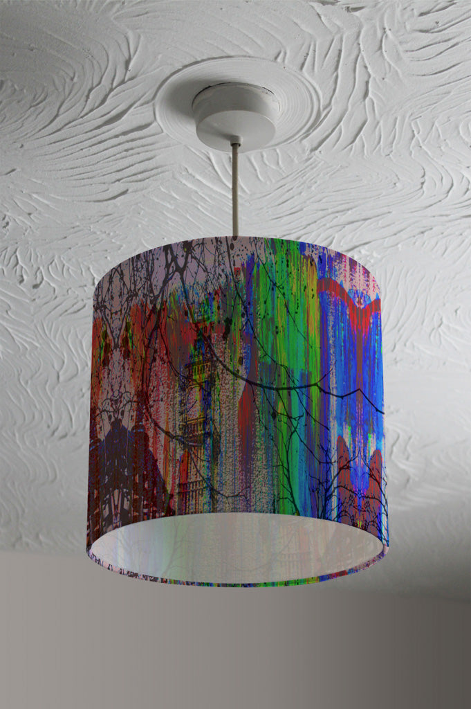 New Product BIG BEN AND TREES PAINTED  (Ceiling & Lamp Shade)  - Andrew Lee Home and Living