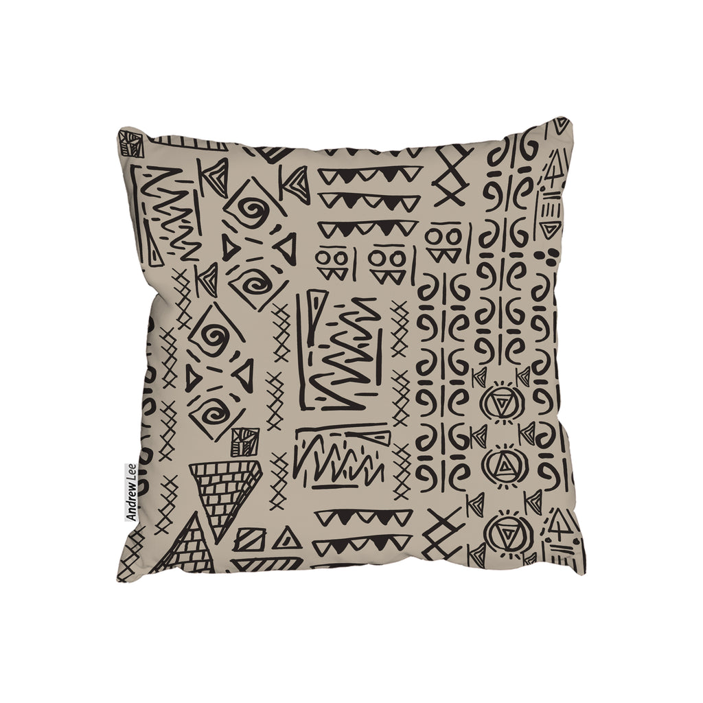 New Product Striped egyptian theme with ethnic and tribal motifs (Cushion)  - Andrew Lee Home and Living