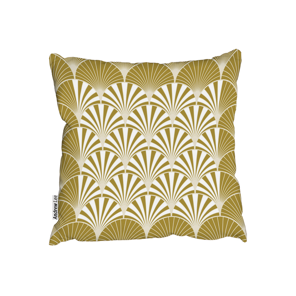 New Product Golden Semi Circles (Cushion)  - Andrew Lee Home and Living