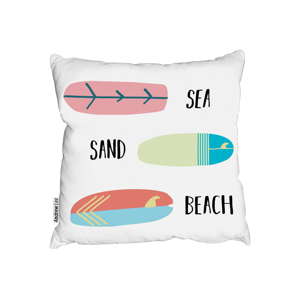 New Product Sea, Sand, Surf, Beach (Cushion)  - Andrew Lee Home and Living