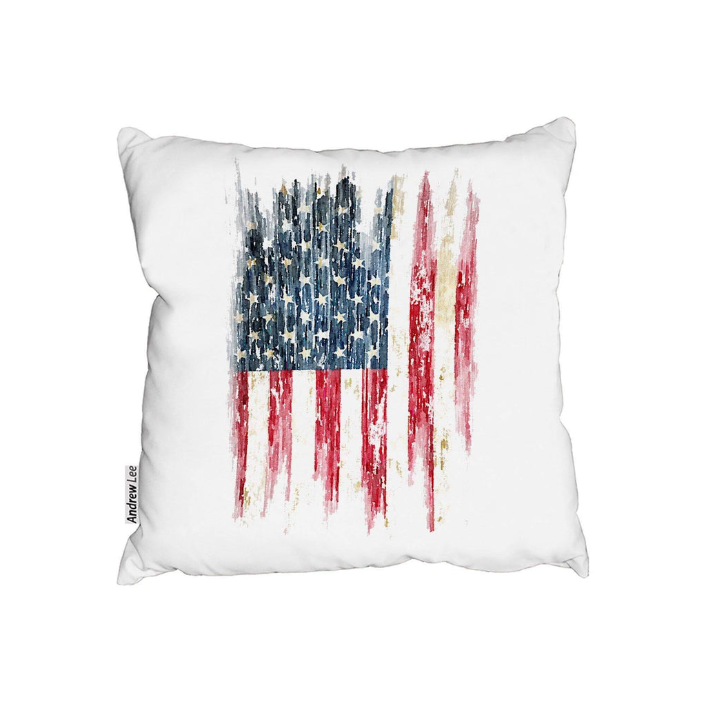 New Product American Grunge Flag (Cushion)  - Andrew Lee Home and Living