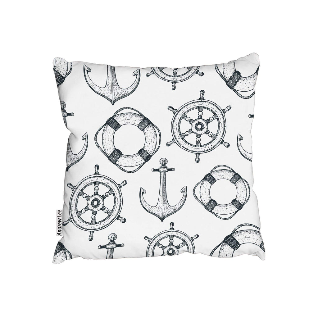 New Product Anchor & Wheel (Cushion)  - Andrew Lee Home and Living