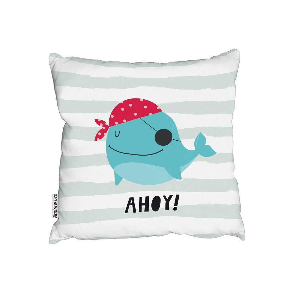 New Product Ahoy! Whale (Cushion)  - Andrew Lee Home and Living