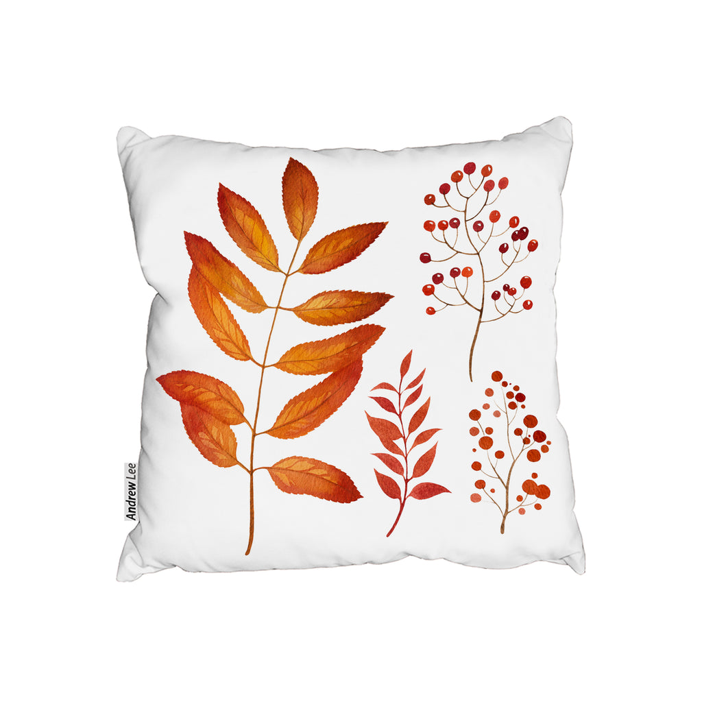 New Product Orange Autumn Leaves (Cushion)  - Andrew Lee Home and Living