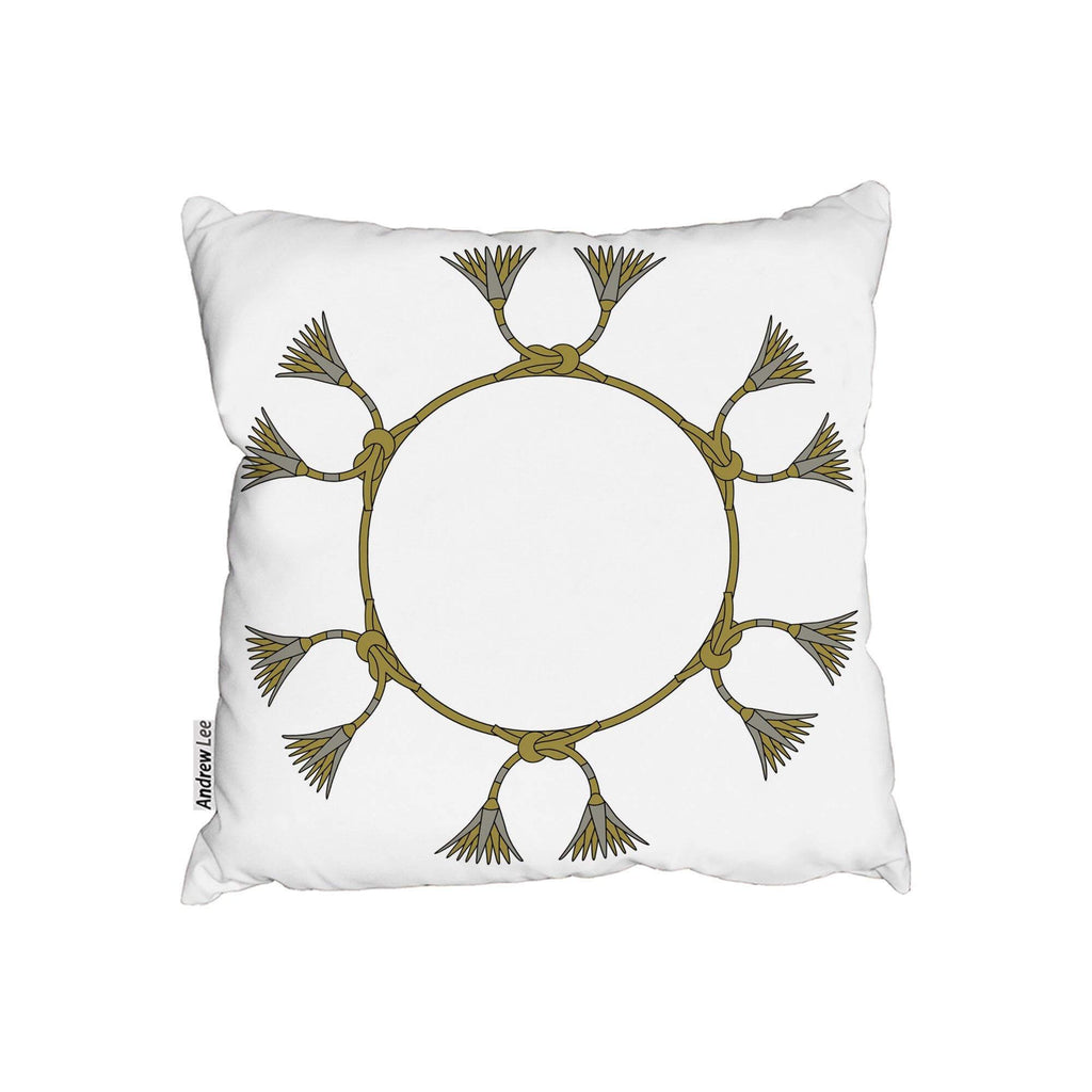 New Product Ancient Egyptian Lotus Motifs (Cushion)  - Andrew Lee Home and Living