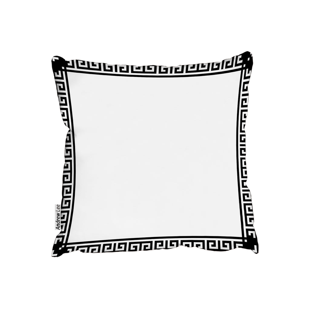 New Product Greek Key Border Frame (Cushion)  - Andrew Lee Home and Living