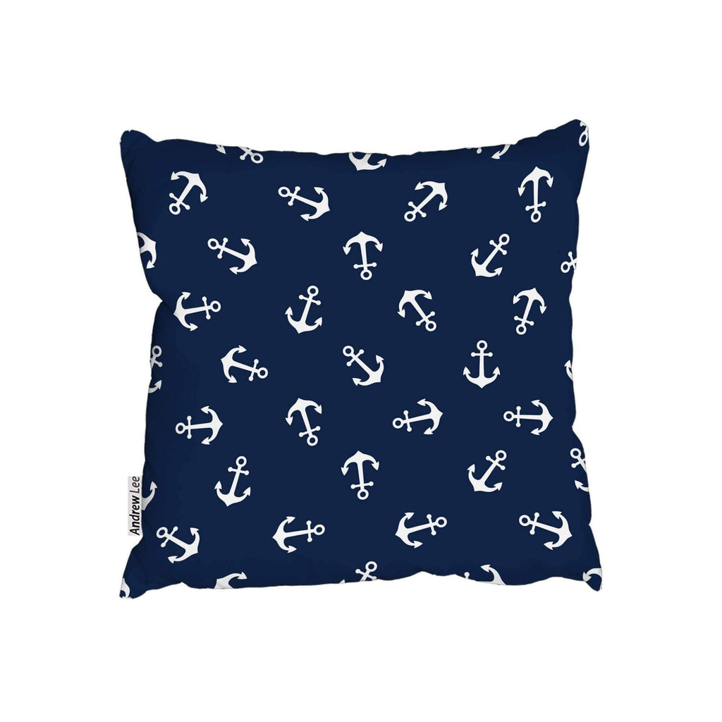 New Product Anchors on Navy Background (Cushion)  - Andrew Lee Home and Living