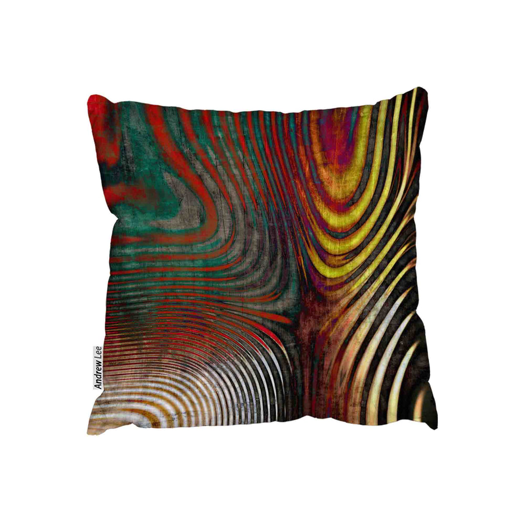 New Product Psychedelic Print (Cushion)  - Andrew Lee Home and Living