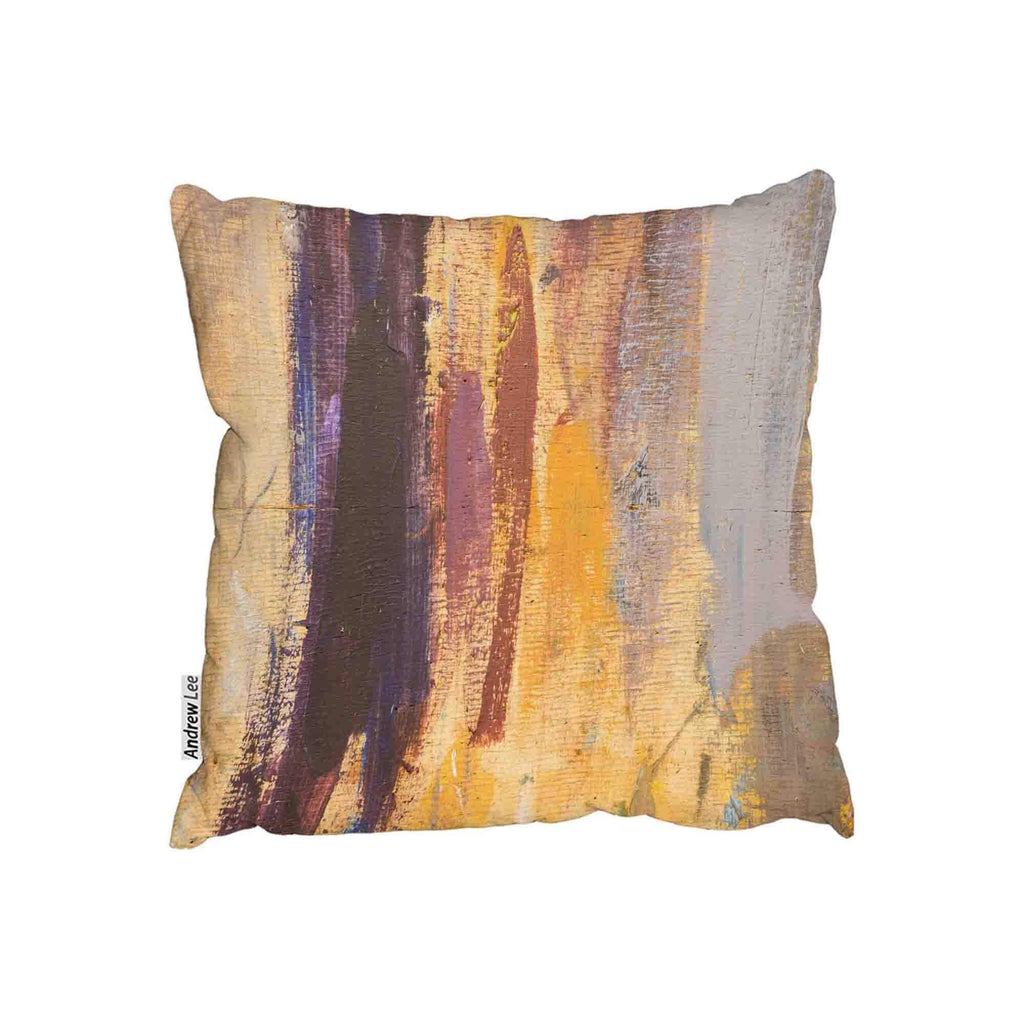 New Product Abstract Grunged Paint (Cushion)  - Andrew Lee Home and Living