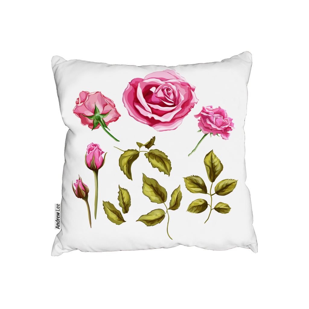 New Product Roses & Leaves (Cushion)  - Andrew Lee Home and Living